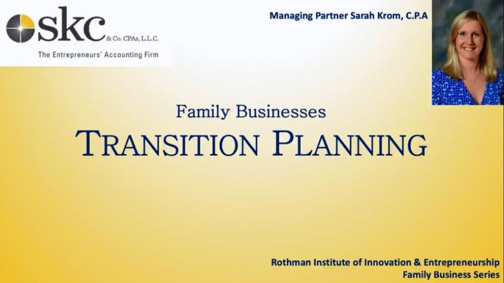 Family Business - Transitions