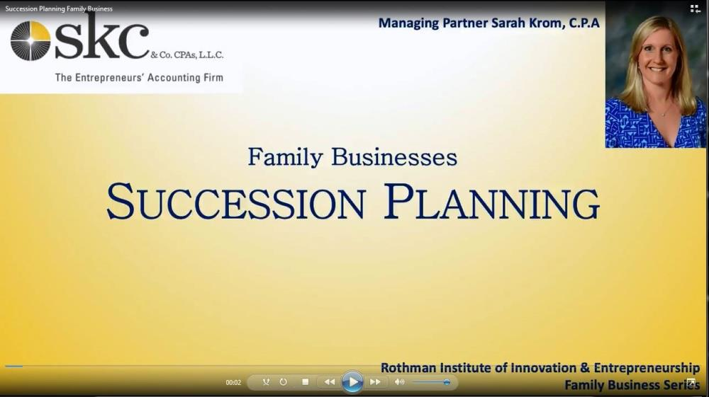 Succession Planning for Family Business