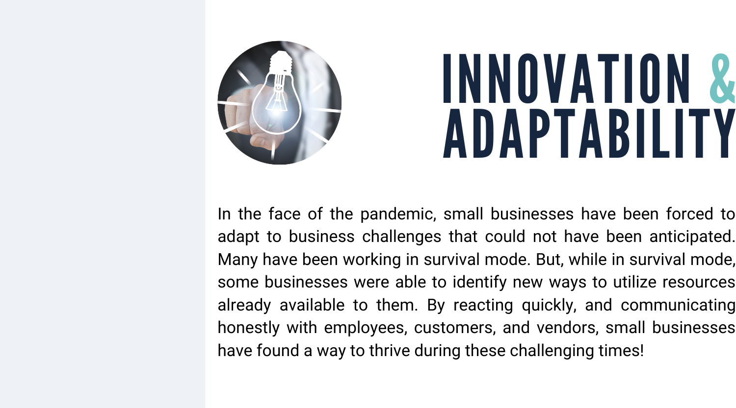 Innovation & Adaptability: Overcoming Unanticipated Business Challenges