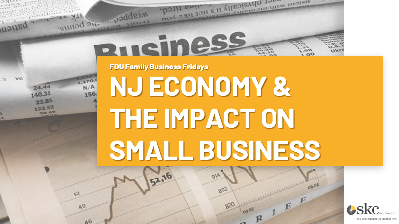 The New Jersey Economy