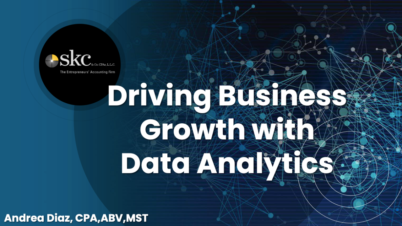 Driving Business Growth with Data Analytics